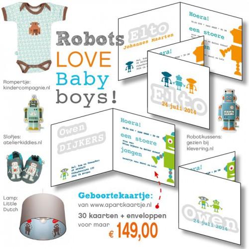 collage geboortekaartjes